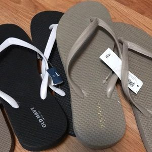 bebe Shoes - Bebe terry flip flops